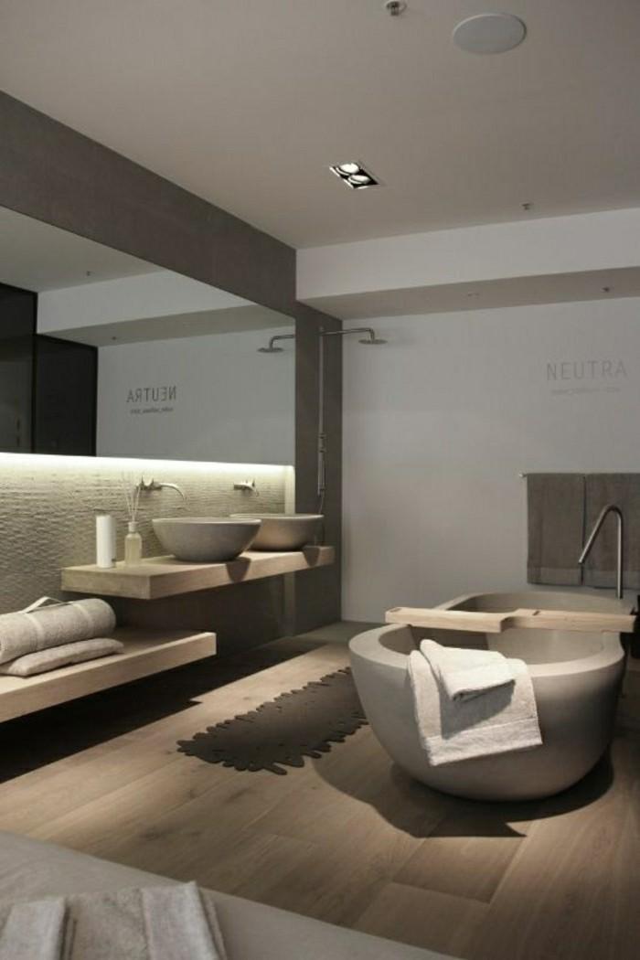Photos Idées Petite Salle De Bain En Bois Avec Balnéo : Belles idées avec la baignoire design archzine