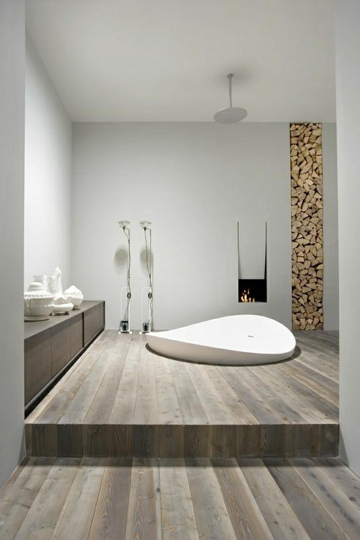 Belles id es avec la baignoire design for Modele salle de bain design