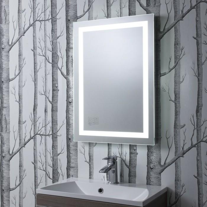 Mille et une id es pour choisir le meilleur miroir lumineux - Miroir salle de bain design ...