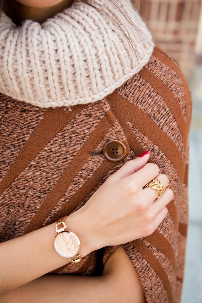 montre-or-rose-homme-cool-de-fossil-stylé-montre-moderne