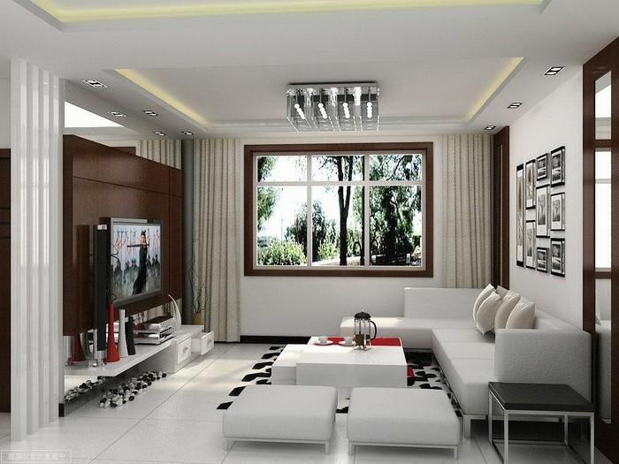 oeillets-double-rideaux-occultant-intérieur-blanc-et-noir