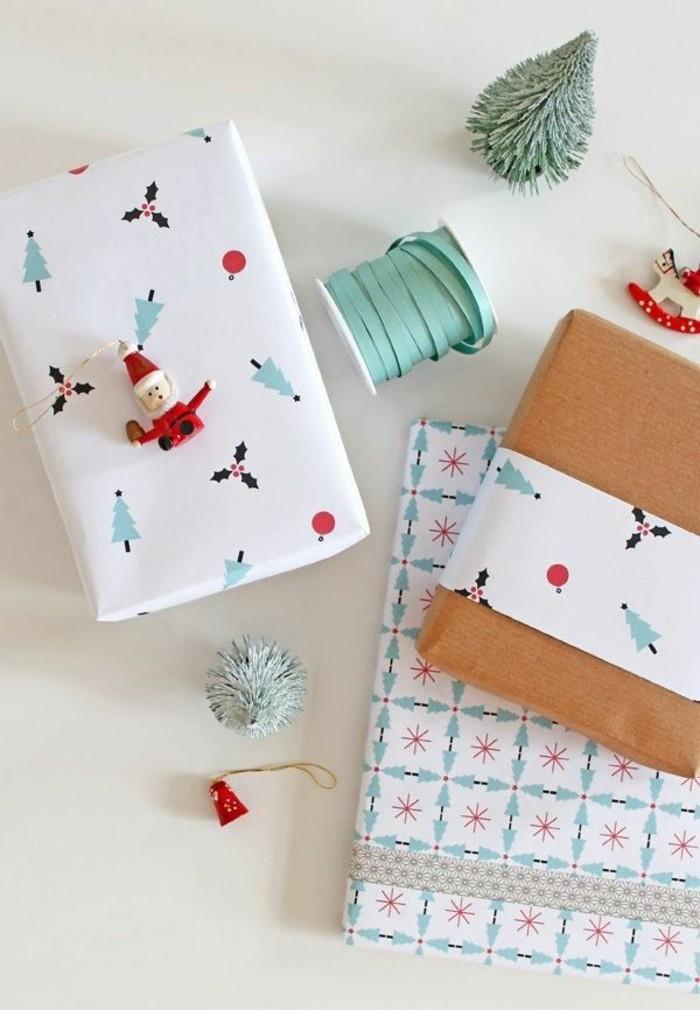 papier-cadeaux-personnalisé-cadeau-de-noël-cool-papier-cadeau-noel-diy