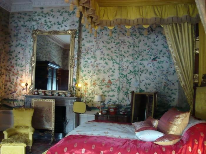 Le papier peint vintage en 42 id es magnifiques - Papier peint gris baroque ...