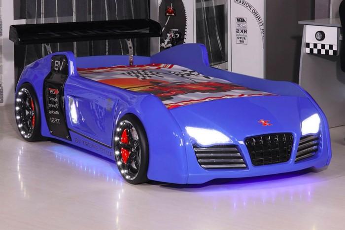 parure-de-lit-voiture-lit-bebe-voiture-lit-enfant-forme-voiture-cool-idée