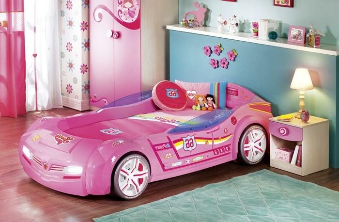 Le lit voiture pour la chambre de votre enfant - Lit enfant voiture fille ...