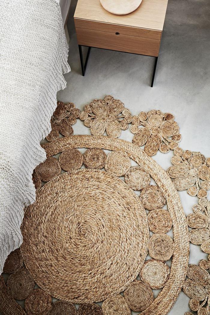 petit-tapis-rond-décoration-tapis-de-sol-macramé