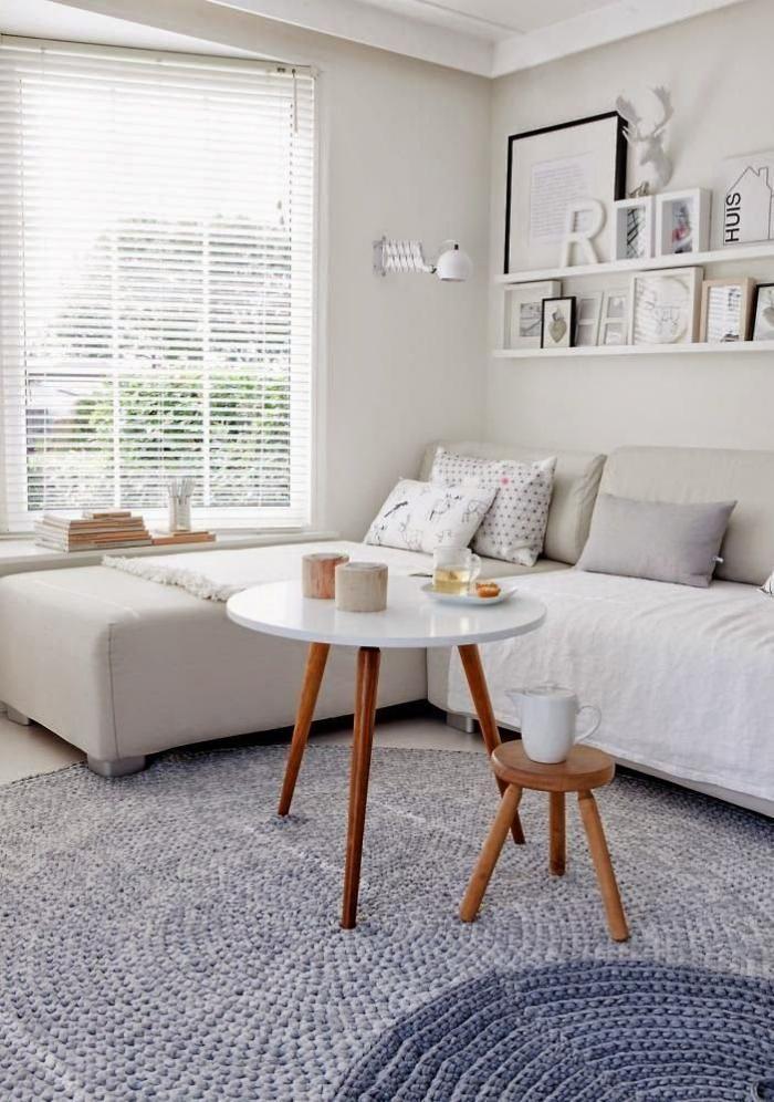 petit-tapis-rond-intérieur-scandinave-et-tapis-rond-gris