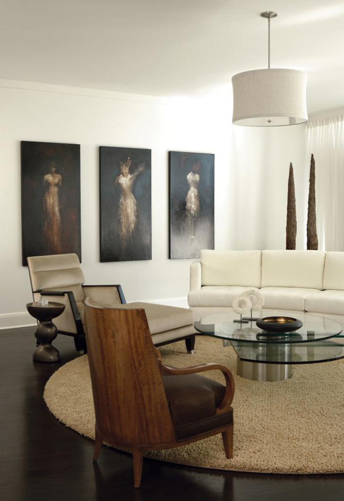 petit-tapis-rond-pour-l'intérieur-élégant-tapis-beige