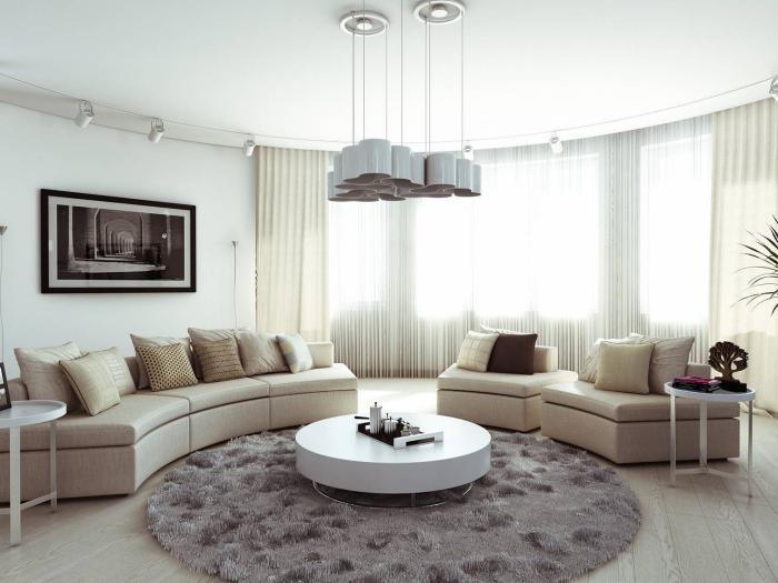 petit-tapis-rond-salon-élégant-contemporain