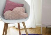 Le petit tapis rond – belle solution pour les petits espaces