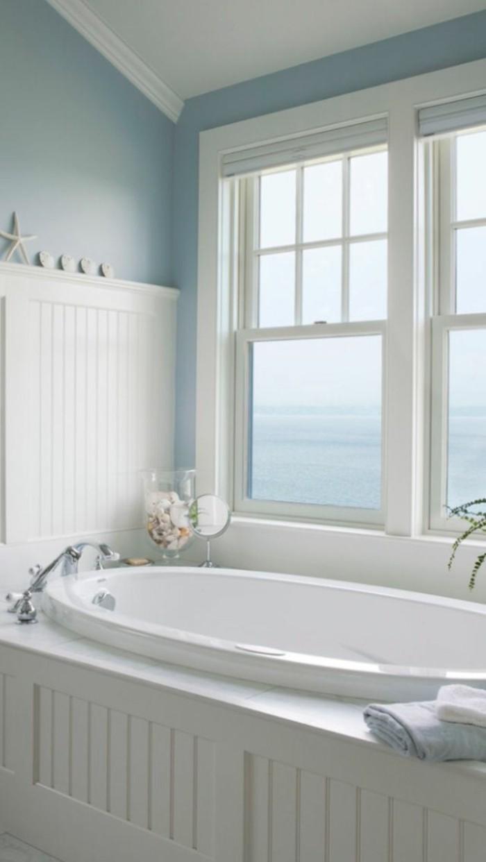 petites-baignoires-belle-vue-idée-design-d'intérieur-baignoire-ovale