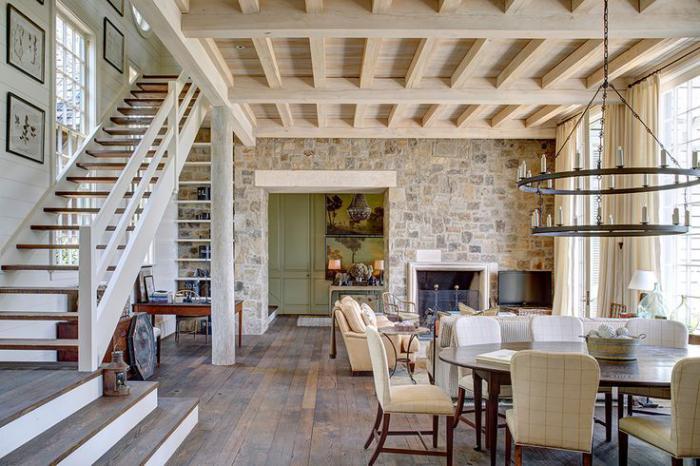 pierre-apparente-beau-salon-avec-mezzanine