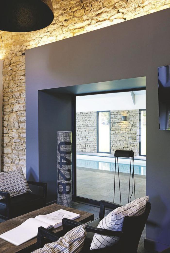 La d co avec pierre apparente for Deco appartement poutre apparente