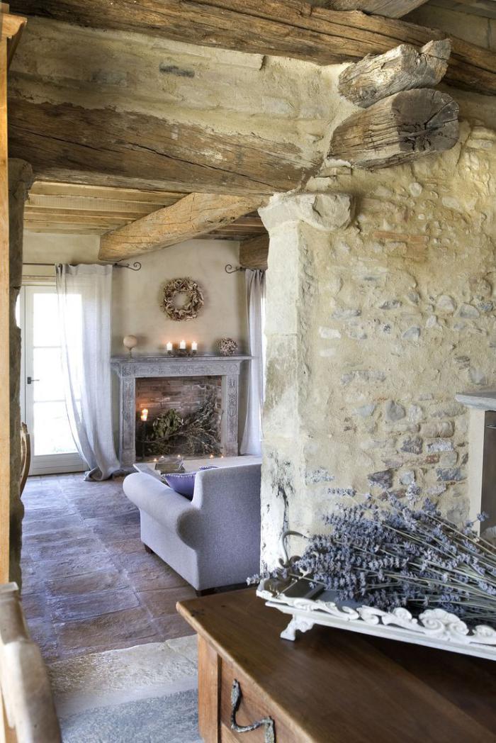 La déco avec pierre apparente - Archzine.fr