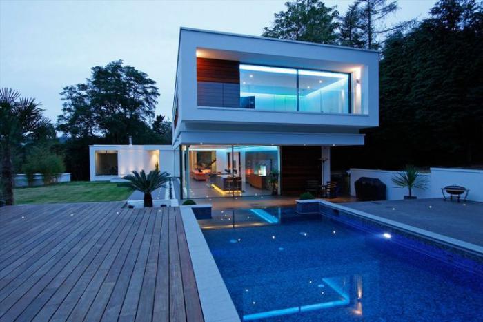 La piscine d bordement belles piscines de luxe for Piscine design contemporaine