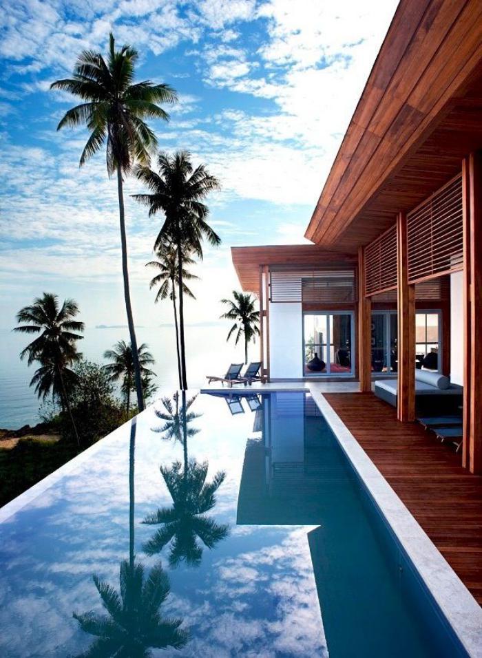 la piscine d bordement belles piscines de luxe. Black Bedroom Furniture Sets. Home Design Ideas