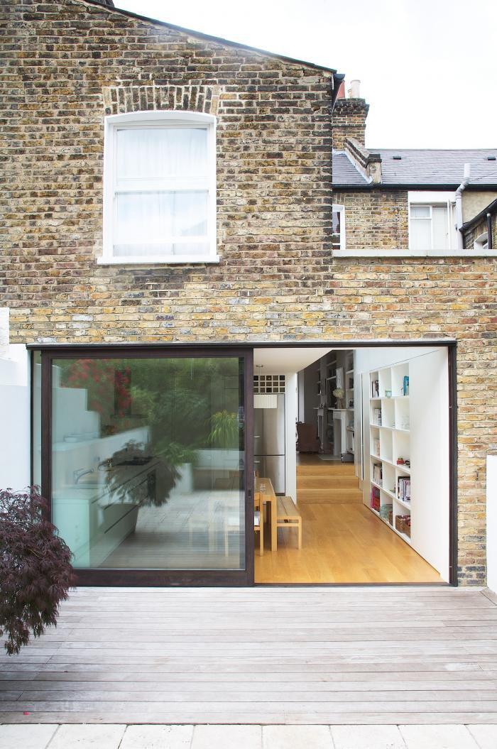 Verriere Interieure Salle De Bain : La porte coulissante en verre – gain d'espace et esthétique moderne