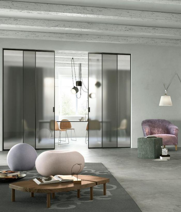 porte-coulissante-en-verre-intérieur-loft-original