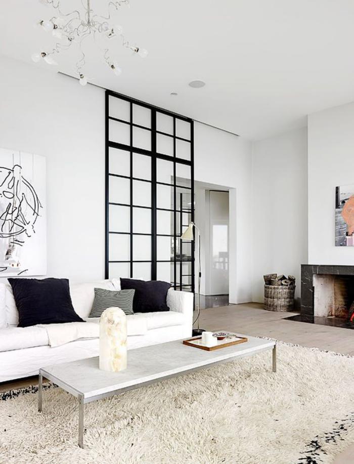 porte coulissante salon meilleures images d 39 inspiration. Black Bedroom Furniture Sets. Home Design Ideas