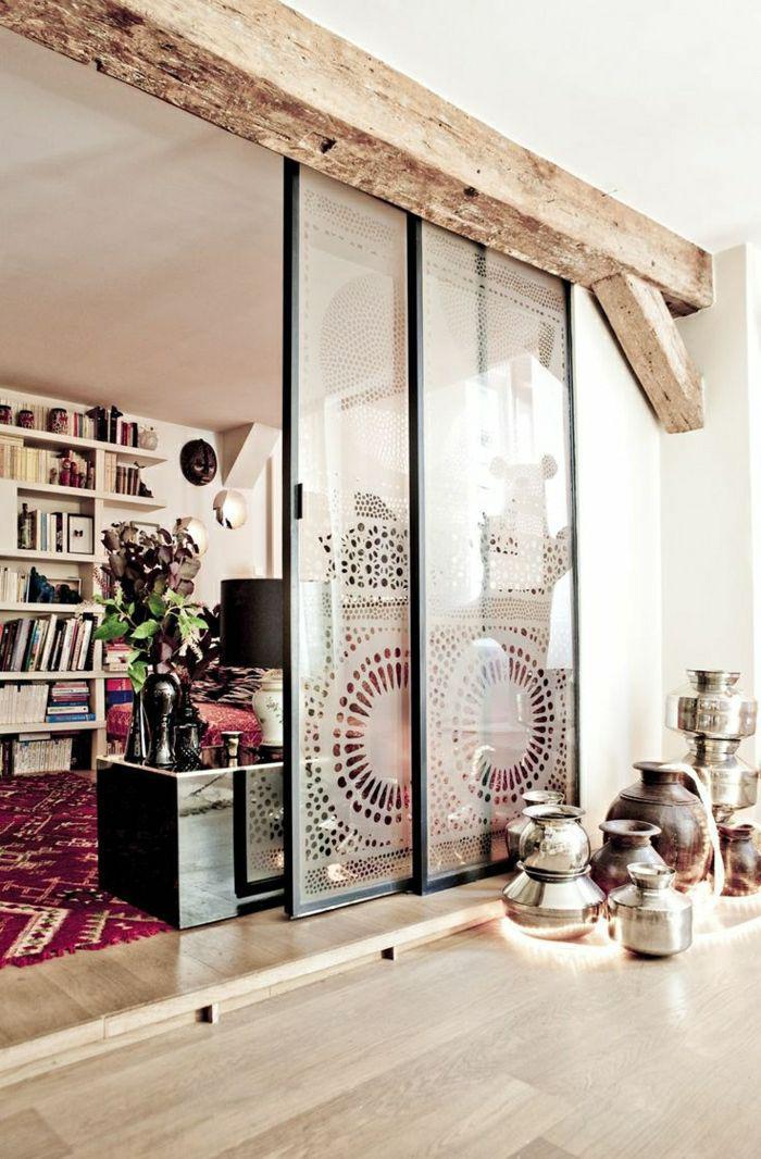 porte-coulissante-en-verre-portes-coulissantes-décor-boho-chic