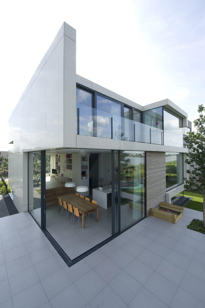 How To Create Modern House Exterior And Interior Design In: La Porte Coulissante En Verre