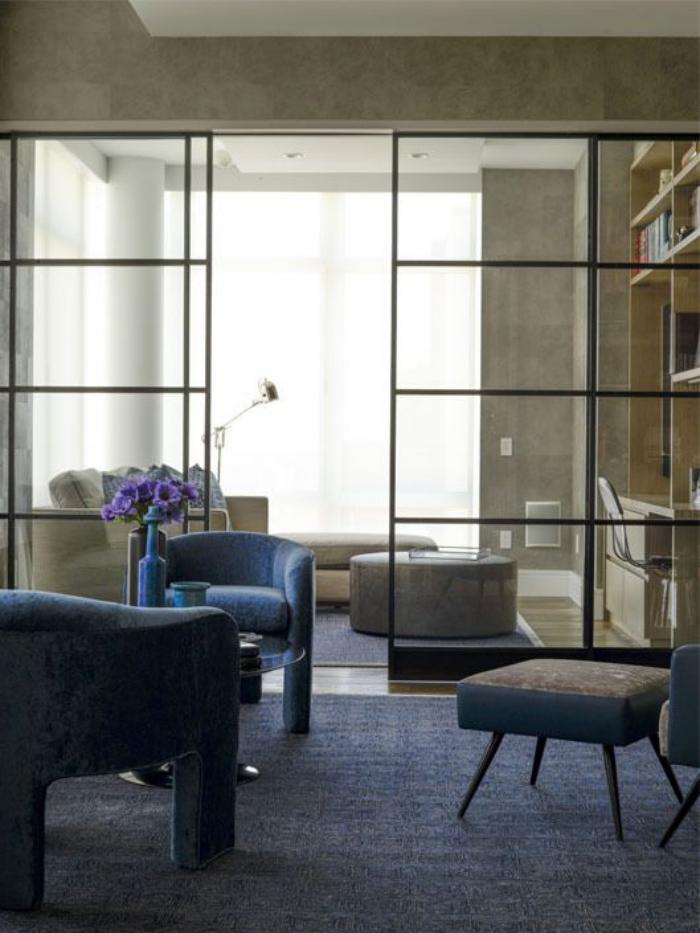 porte-coulissante-en-verre-portes-vitrées-décor-aérien-contemporain