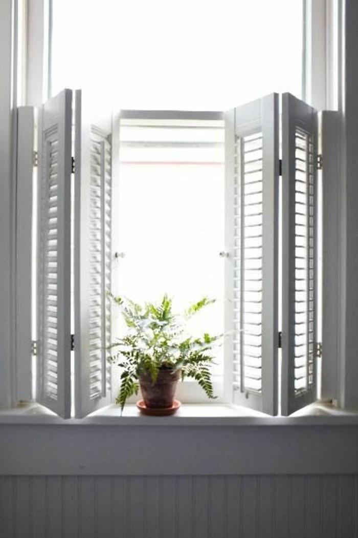 portes-placard-persiennes-en-bois-de-couleur-blanc-sur-les-fenetres