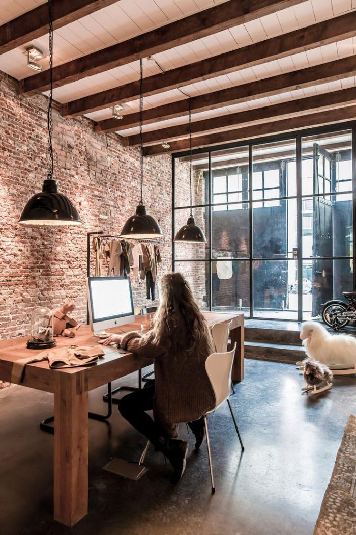 La tendance poutres apparentes 41 bons exemples for Interieur stylist amsterdam