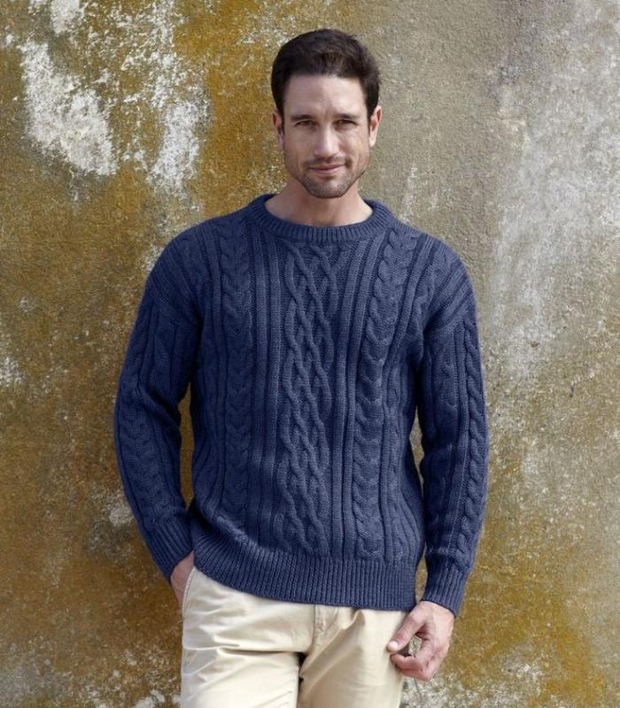 pull-irlandais-homme-pulls-en-laine-classiques