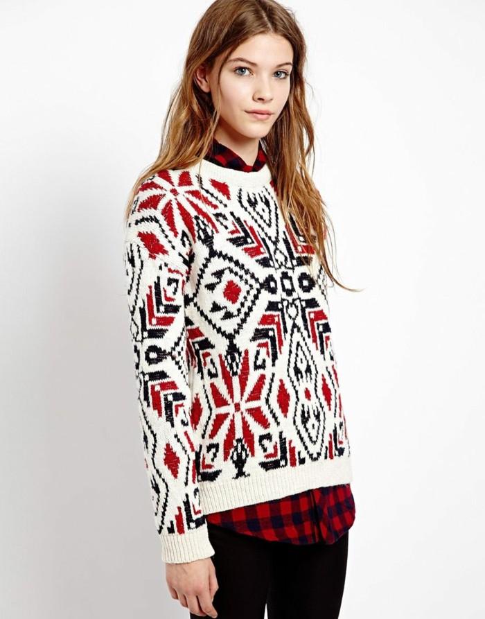 pull-motif-jacquard-femme-pull-papa-noel-rouge-et-blanc