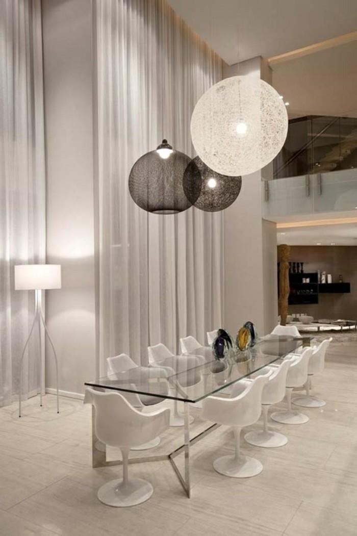 salle-à-manger-complète-conforama-table-en-verre-transparente-meubles-dans-la-maison-contemporaine