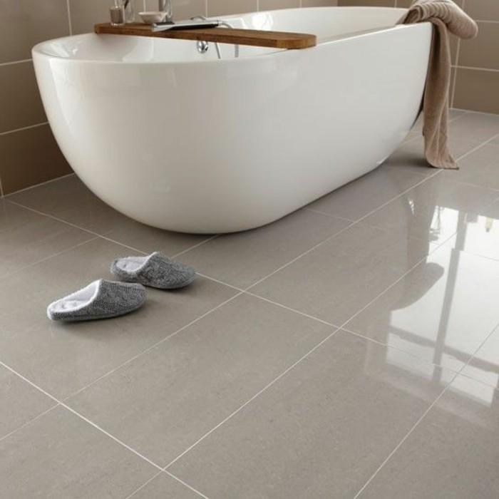41 photos qui vont vous pr senter le carrelage brillant - Salle de bain carrelage beige ...