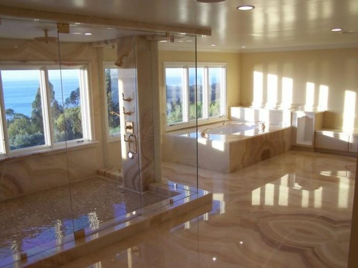 salle-de-bain-contemporaine-baignoire-design-contemporaine-marbre-magnifique