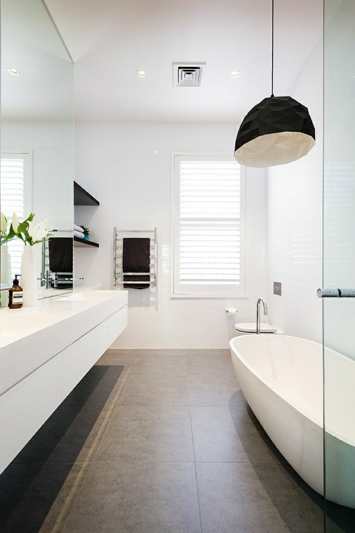 Belles id es avec la baignoire design for Townhouse bathroom ideas