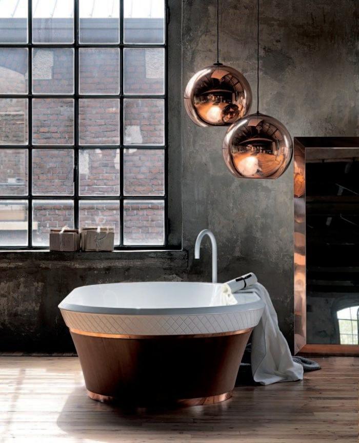 salle-de-bain-de-reve-idée-salle-de-bain-industrielle-vintage