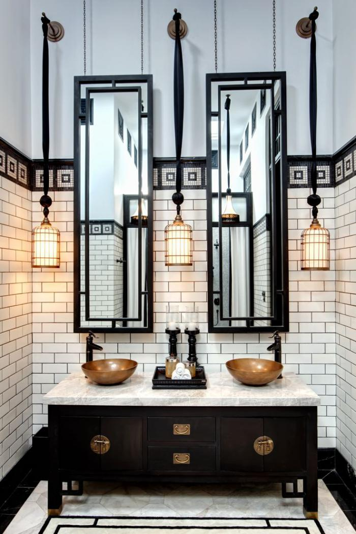salle-de-bain-de-reve-idée-salle-de-bain-noire-et-blanc
