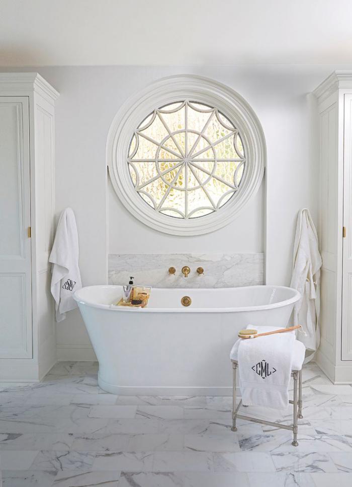 On est en qu te de la meilleure salle de bain de reve - Salle de bain toute blanche ...
