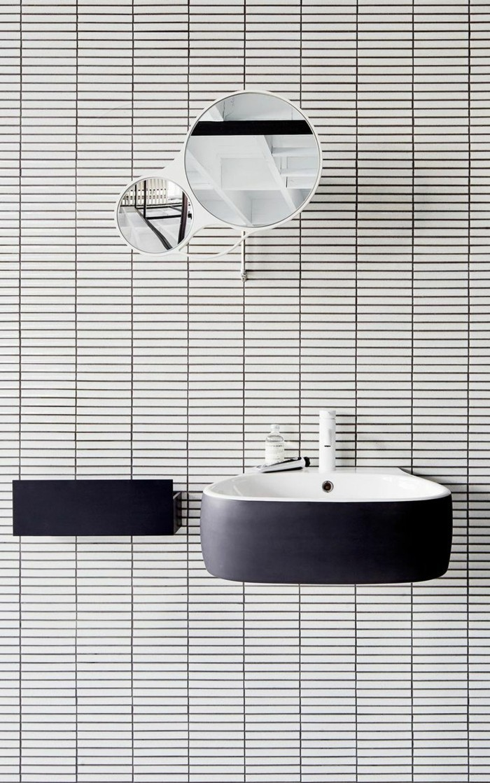 Tableau salle de bain noir et blanc salle de bain noir et blanc sfsi eg - Decoration salle de bain noir et blanc ...