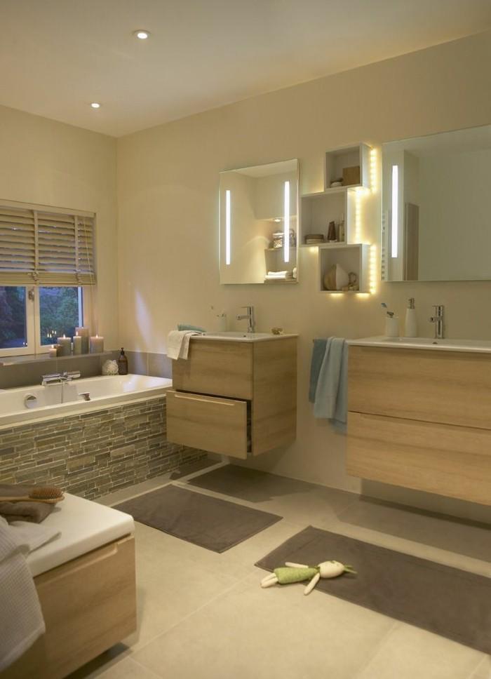 Mille et une id es pour choisir le meilleur miroir lumineux - Salle de bain pinterest ...