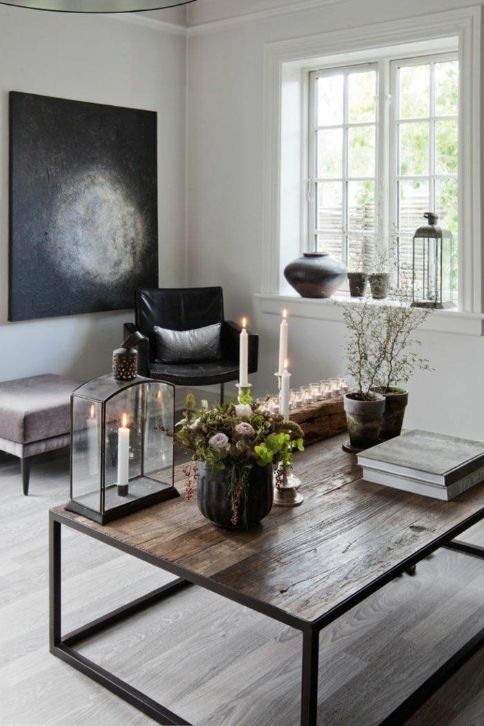 meuble salon scandinave maison design. Black Bedroom Furniture Sets. Home Design Ideas