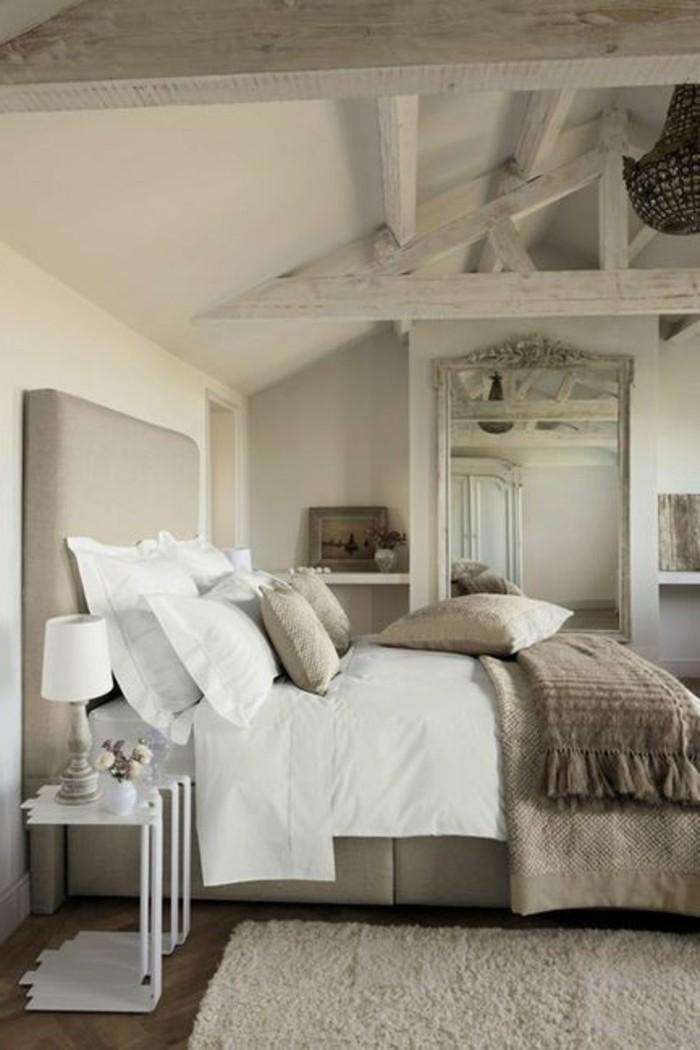 tête-de-lit-originale-en--cuir-gris-pour-le-lit-dans-la-chambre-a-coucher