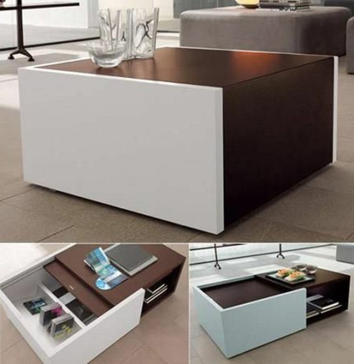 table basse moderne pour salon. Black Bedroom Furniture Sets. Home Design Ideas