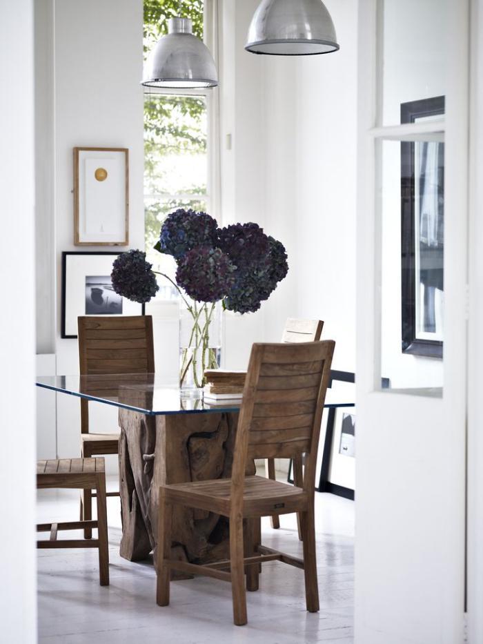 table-en-teck-design-authentiqu-meubles -en-racines-de-teck