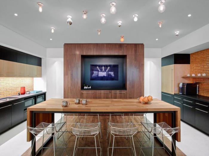 table-en-teck-grande-table-rectangulaire-cuisine-contemporaine