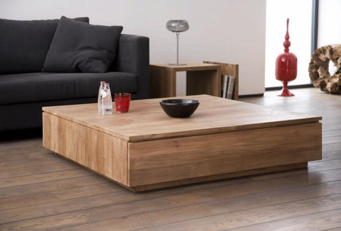 Donnez un cachet exotique l 39 int rieur avec une belle - Table basse contemporaine design ...