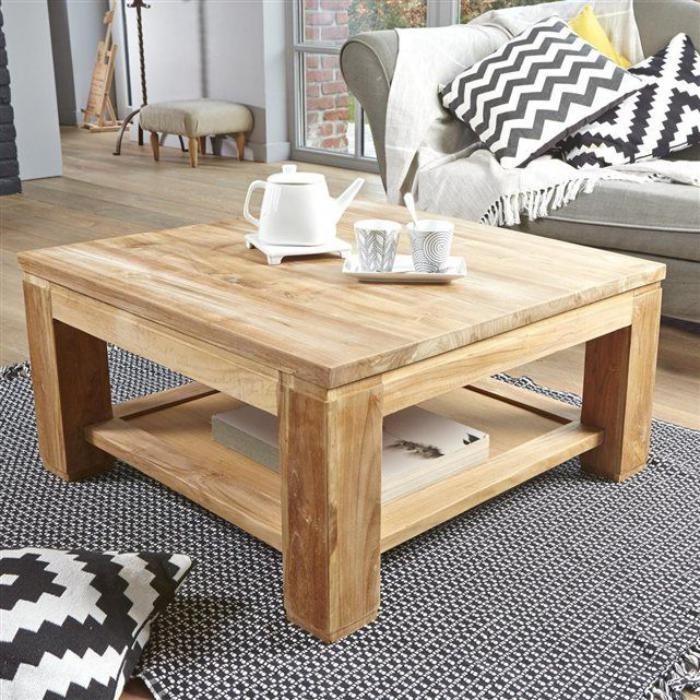 table-en-teck-table-de-salon-carrée-belle-table-en-arbre-teck