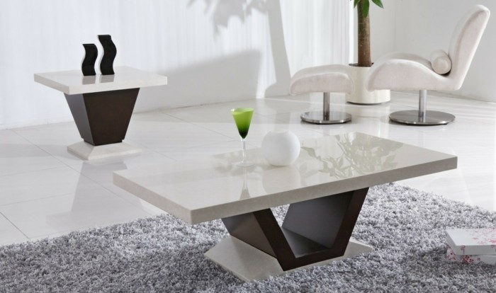 La table basse design en mille et une photos avec beaucoup - Table salon moderne ...