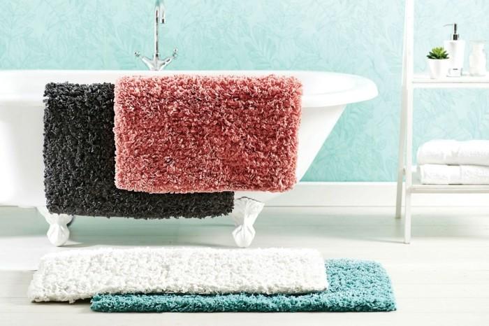 Cool id es pour le tapis de salle de bain original for Tapis salle de bain original