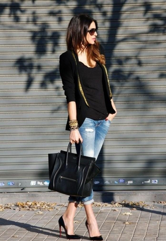 tenue-escarpins-noir-escarpin-noir-pas-cher-salomé-chaussure-tenue-de-jour