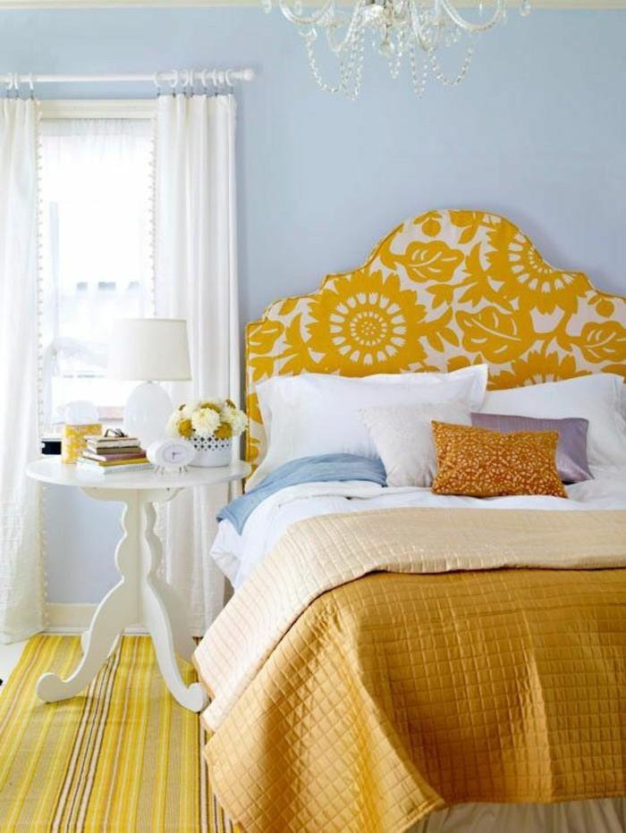 tetes-de-lit-design-jaune-et-blanc-dans-la-chambre-a-coucher-tetes-de-lit-design-pour-la-chambre-a-coucher